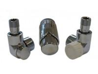Комплект подключений для полотенцесушителя SCHLOSSER Exclusive - 601700116