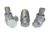 Комплект подключений для полотенцесушителя SCHLOSSER Exclusive - 601700107